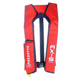 Life Jacket Inflatable Offshore Level L150 Manual Red Axis