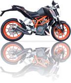 IXIL L3XB BLACK HYPERLOW XL EXHAUST KTM DUKE 390 2012-2016