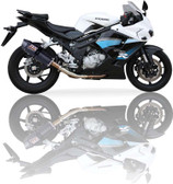 IXIL XTREME CARBON EXHAUST COV HYOSUNG GT 650 All