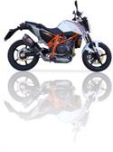 IXIL XTREME CARBON EXHAUST COV KTM DUKE 690 2012-2016