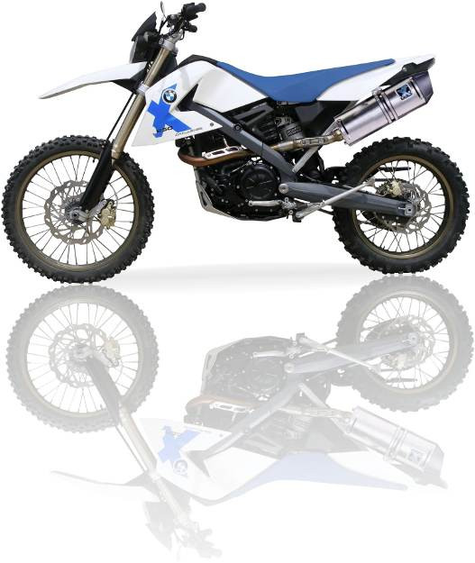 Ixil Xtreme Evolution Exhaust Sove Bmw G 650 X Country 2007 2009