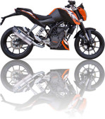 IXIL XTREME EVOLUTION EXHAUST SOVE KTM DUKE 125 2011-2016
