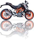 IXIL XTREME EVOLUTION EXHAUST SOVE KTM DUKE 390 2012-2016