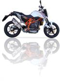 IXIL XTREME EVOLUTION EXHAUST SOVE KTM DUKE 690 2012-2016
