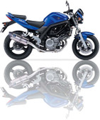 IXIL XTREME EVOLUTION EXHAUST SOVE SUZUKI SV 650 (BY) 2004-2005