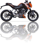 IXIL L3XB HYPERLOW BLACK EXHAUST KTM DUKE 125 2011-2016