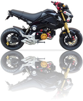 Nice Pic of Honda Grom Ixil Hyperlow Exhaust
