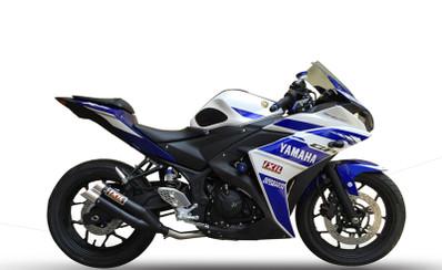 Ixil L3XB Hyperlow Full Exhaust Yamaha R3