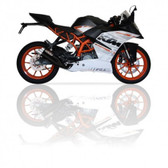 IXIL L3XB BLACK HYPERLOW XL  EXHAUST KTM RC390 2014-2016