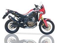 IXIL XTREME BLACK SLIP ON EXHAUST XOVS HONDA CRF1000 L AFRICAN TWIN 2016-2019