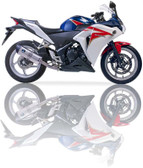 IXIL XTREME EVOLUTION SLIP ON EXHAUST SOVE HONDA CBR 300 R 2015-2017