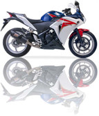 IXIL XTREME CARBON SLIP ON EXHAUST COV HONDA CBR 300 R 2015-2017