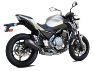 IXIL RC1B RACE HEXACONE XTREM BLACK FULL EXHAUST KAWASAKI Z 650 2017-2019
