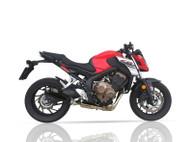 IXIL RC1B RACE HEXACONE XTREM BLACK FULL EXHAUST HONDA CBR 650 F 2014-2019