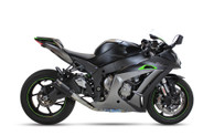 IXRACE MK2 SLIP ON BLACK EXHAUST KAWASAKI ZX 10 R 2016-2019