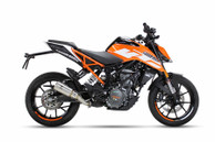 IXRACE MK2 SLIP ON INOX EXHAUST KTM DUKE 390 2017-2019
