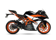 IXRACE MK2 SLIP ON BLACK EXHAUST KTM RC 390 2017-2019