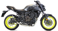 IXRACE MK2 BLACK FULL EXHAUST YAMAHA FZ07 2014-2019