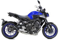 IXRACE MK2 BLACK FULL EXHAUST YAMAHA MT-09 2013-2019