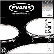 Evans G2 Clear Standard Pack