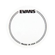 Evans EQ Bass Drumhead Patch Clear