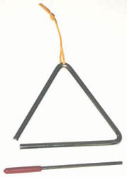 Power Beat 6 Inch Triangle with beater deluxe