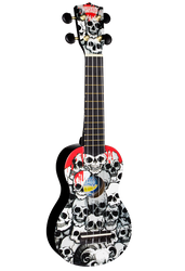Mahalo Art Series U60SK Skull Soprano Ukulele