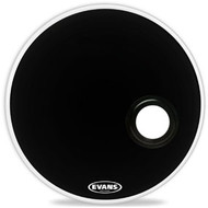 Evans EMAD Black Bass Drum Head Resonant