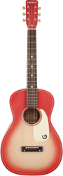 Gretsch G9515 Jim Dandy Flat Top Coral Pink Burst