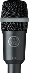 AKG D40 Dynamic Instrument Microphone