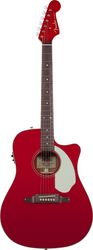 Fender Sonoran SCE Cutaway Electric Candy Apple Red