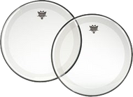 Remo Powerstroke 4 Clear Bass Drum Head (with Falam Patch) 22""