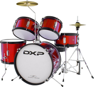 DXP TXJ5 Junior Drum Kit Wine Red