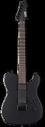 ESP LTD TE-406 BLKS Electric Guitar Black Satin