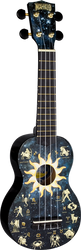 Mahalo Art Series U60CO Constellation Soprano Ukulele
