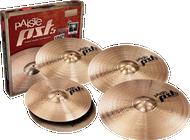 "Paiste PST5 Cymbal Pack with Bonus 18"" Crash"