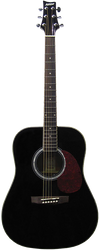 Ashton D20 Acoustic Guitar Black