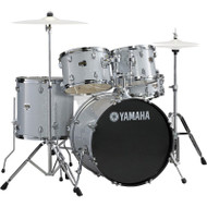 Yamaha Gigmaker Fusion Plus Drum Set Silver Glitter
