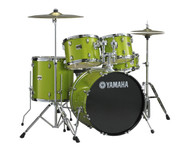 Yamaha Gigmaker Rock Plus Drum Set White Grape Glitter
