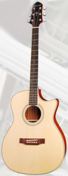 Crafter HTC-1000SEQ/N Orchestral Acoustic/Electric Guitar