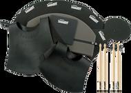 Evans SoundOff Fusion Set with 2 Sets of ProMark 5A Sticks