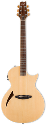 ESP TD TL-6 Thinline Acoustic/Electric Natural