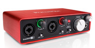 Focusrite Scarlett 2i2 2nd Gen Audio Interface