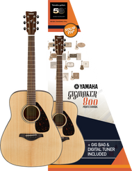 Yamaha Gigmaker800 Guitar Pack Natural Gloss
