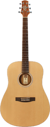 Ashton D20S CEQ NTM Solid Top Acoustic/Electric Guitar