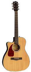 Fender CF-140SCE Folk Left-Handed Acoustic/Electric Natural Gloss