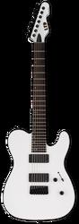 ESP LTD TE-417 7-String Snow White Satin
