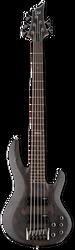ESP LTD B-205SM 5-String Spalted Maple See Thru Black Satin