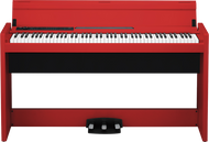 Korg LP-380 88-Note Digital Piano Red