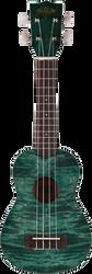 Kala KA-SEMG Exotic Mahogany Soprano Green